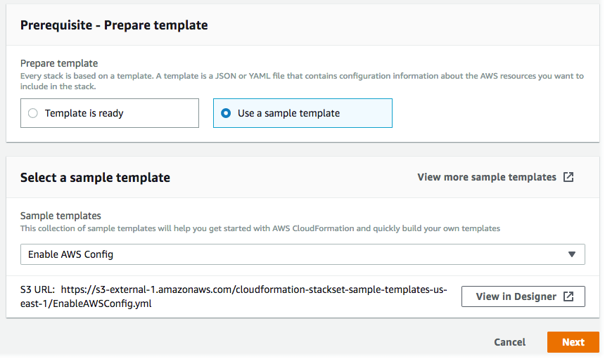 Create a New Stack Set - AWS CloudFormation