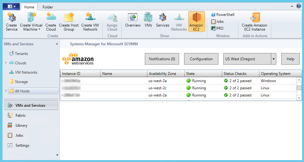AWS Systems Manager for Microsoft System Center VMM - Amazon