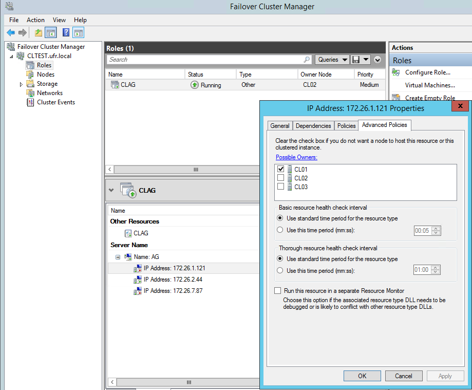 Best Practices and Recommendations for SQL Server Clustering in EC2