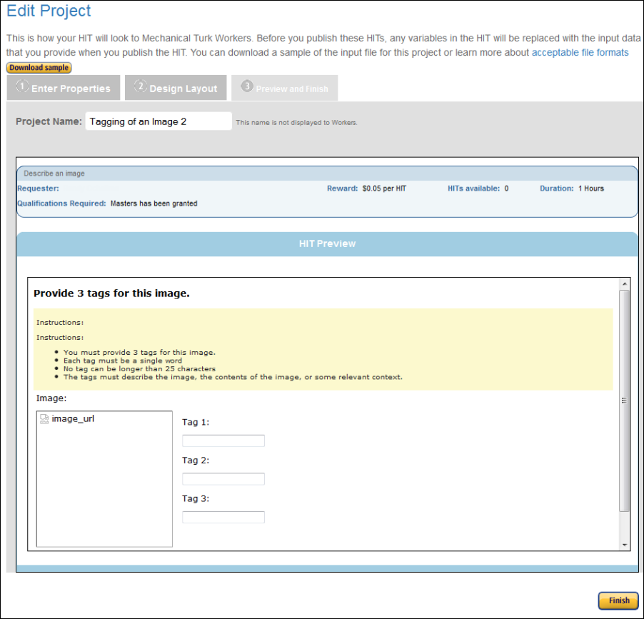 how to create a project amazon mechanical turkclick source to exit the html source review your changes if you are satisfied with your changes, click preview