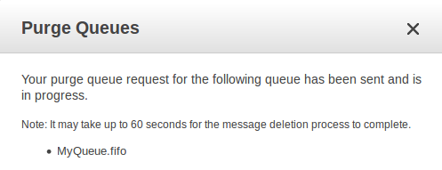 Tutorial: Purging Messages from an Amazon SQS Queue - Amazon Simple