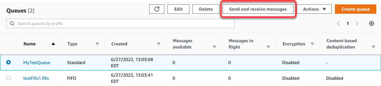 Tutorial: Sending a Message with Attributes to an Amazon SQS