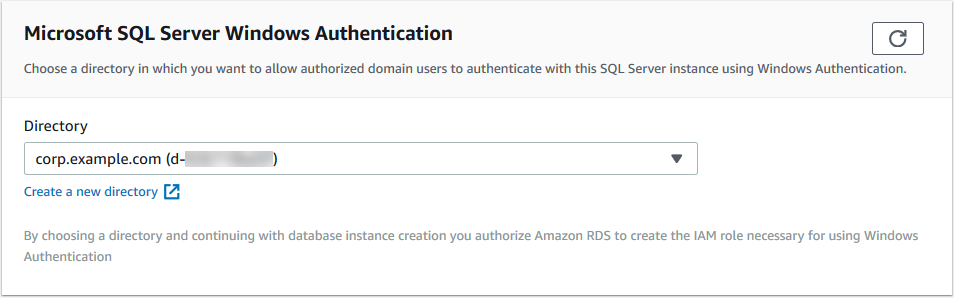 Using Windows Authentication with a Microsoft SQL Server DB