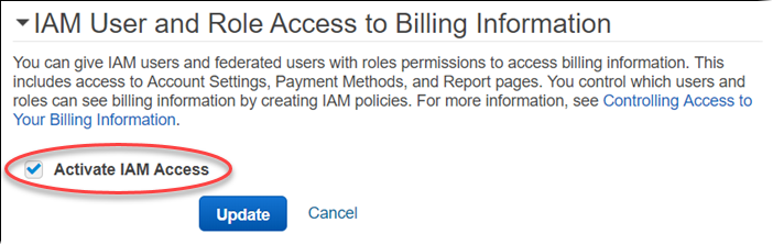 Tutorial Delegate Access To The Billing Console Aws Identity And
