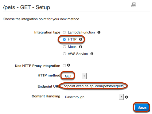 TUTORIAL: Build an API with HTTP Non-Proxy Integration