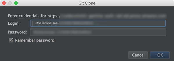 Set Up Connections from Development Tools Using Git