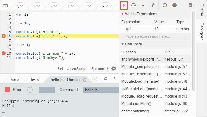 IDE-Tutorial für AWS Cloud9 - AWS Cloud9