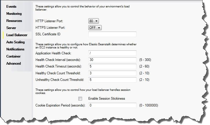Konfigurieren von Elastic Load Balancing mit dem AWS Toolkit for ...