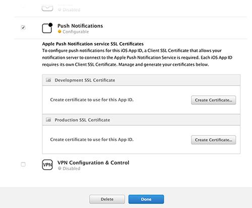 Schritt 2: Erstellen eines APNs-SSL-Zertifikats - Amazon Pinpoint