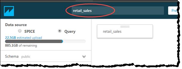 Vorbereiten Eines Auf Datenbankdaten Basierenden Datasets Amazon