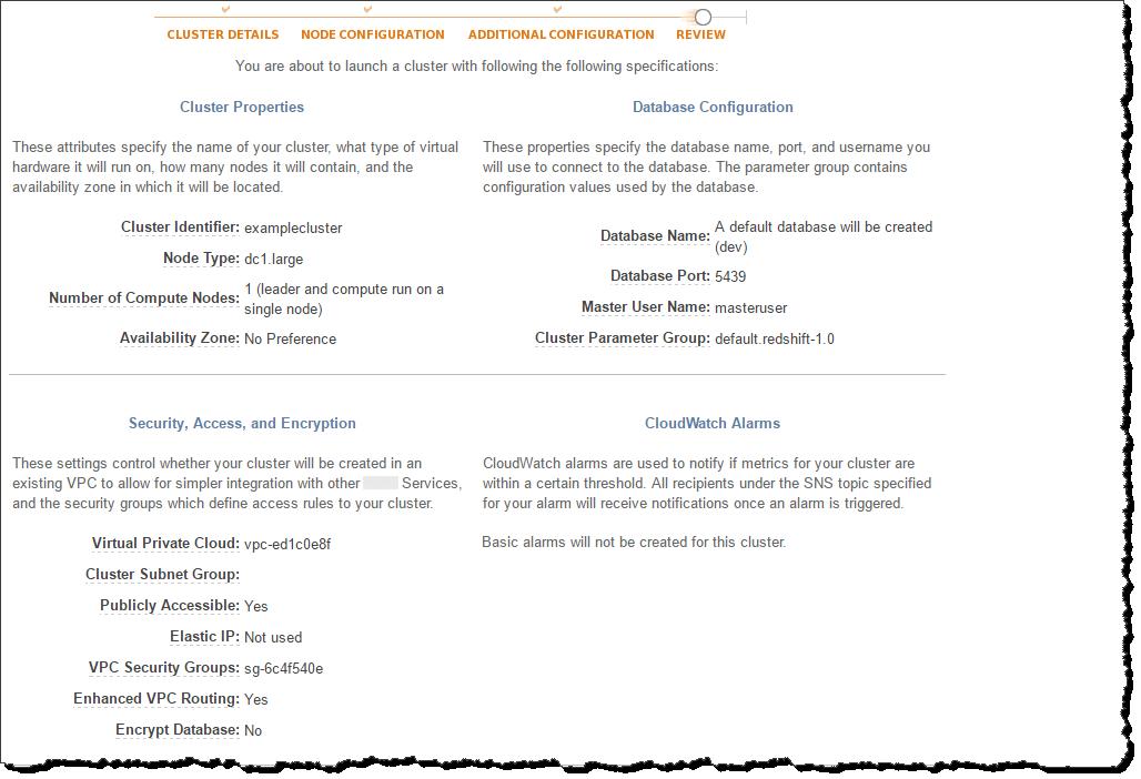 Verwalten von Clustern mithilfe der Konsole - Amazon Redshift