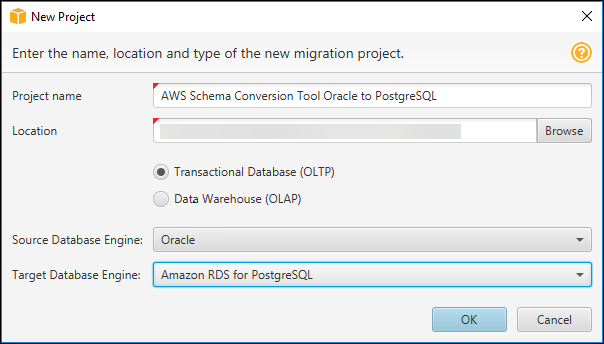 Step 4: Use the AWS Schema Conversion Tool (AWS SCT) to Convert the