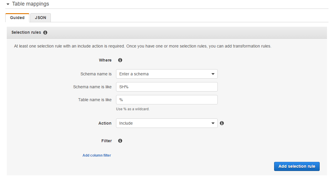 Step 9: Create and Run Your AWS DMS Migration Task - AWS