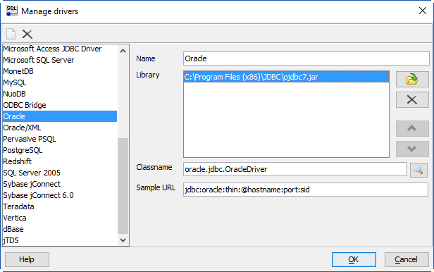 free download ojdbc14.jar for oracle 11g