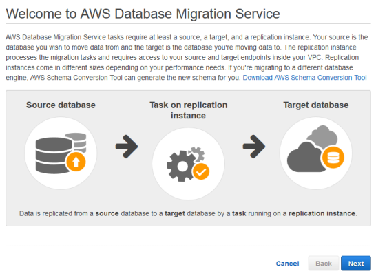Getting Started with AWS Database Migration Service - AWS Database