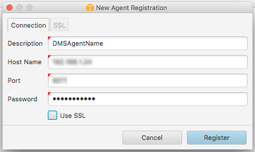 Step 8: Register the DMS Agent in AWS SCT - AWS Database Migration