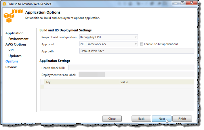Tutorial: How to Deploy a  NET Sample Application Using AWS Elastic