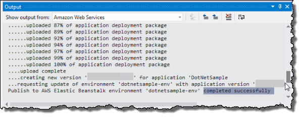 Tutorial: How to Deploy a  NET Sample Application Using AWS
