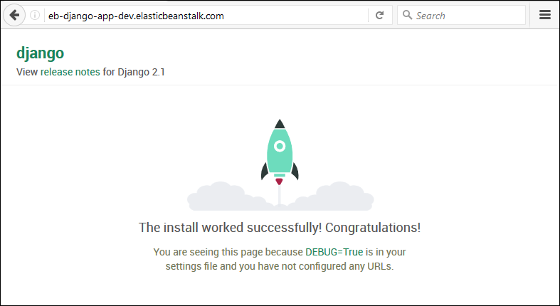 Deploying a Django Application to Elastic Beanstalk - AWS Elastic
