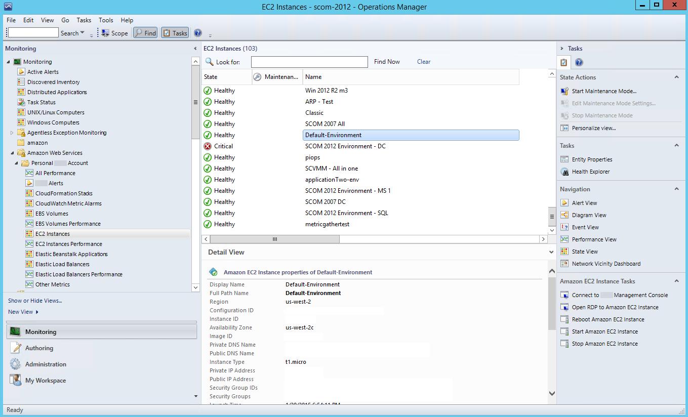 Uso de AWS Management Pack - Amazon Elastic Compute Cloud