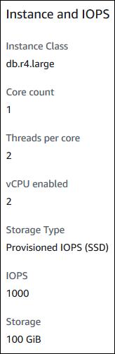 Ver opciones del procesador