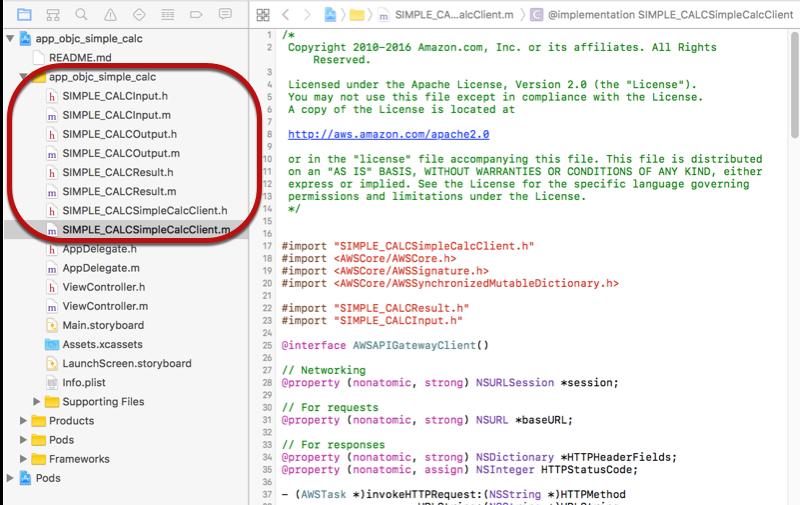 Usar el SDK de iOS generado (Objective-C) para llamar a una API ...
