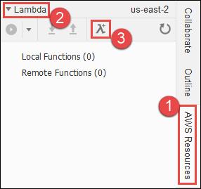 Creación de una nueva función Lambda