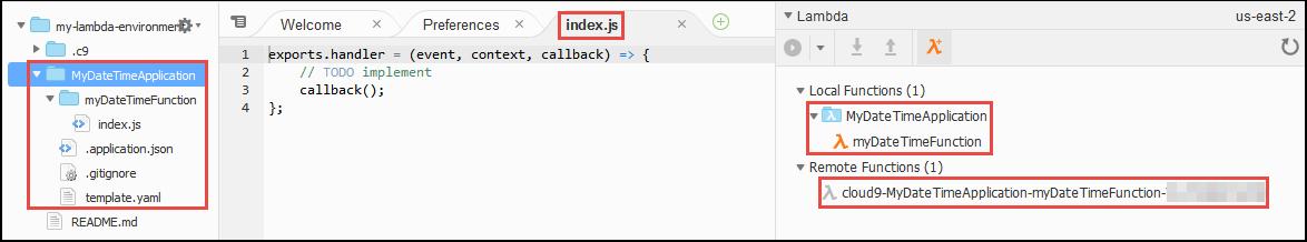 La nueva función de Lambda en el IDE