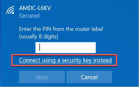 Imagen: escriba el SSID del dispositivo en Windows
