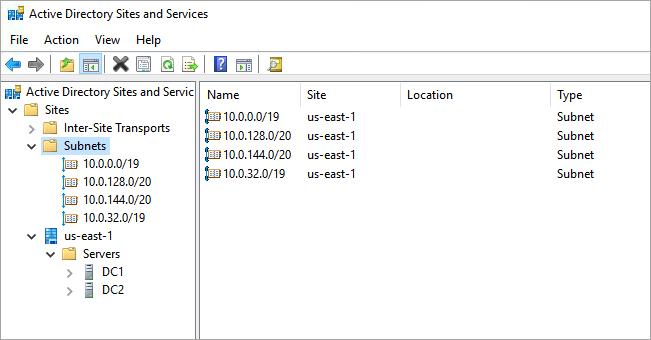 Diseño de Active Directory - Active Directory Domain Services en AWS