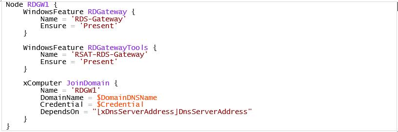 Configuración de RDGW1