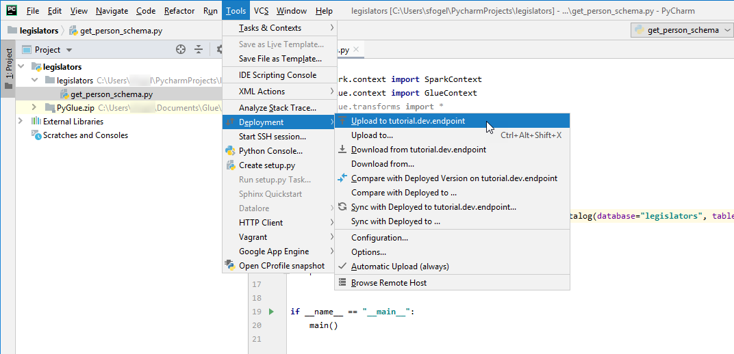 Tutorial: Set Up PyCharm Professional with a Development