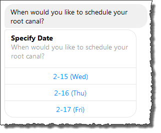 Example Bot: ScheduleAppointment - Amazon Lex