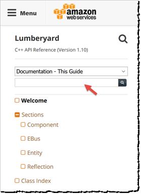 Welcome - Lumberyard C++ API Reference