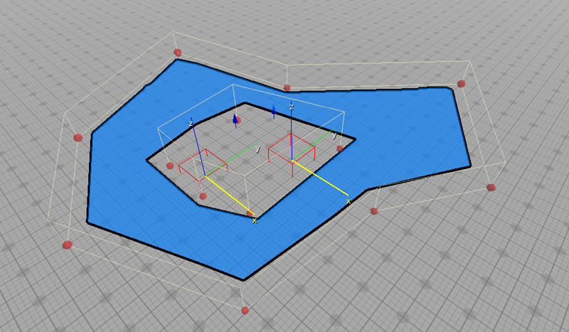 Navigable area created using the Navigation Area component.