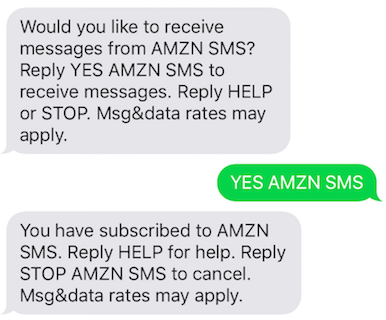 Send and Receive SMS Notifications - AWS Mobile SDK