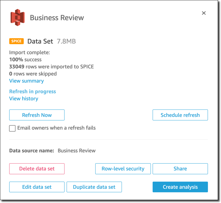 Restricting Access to a Data Set by Using Row-Level Security