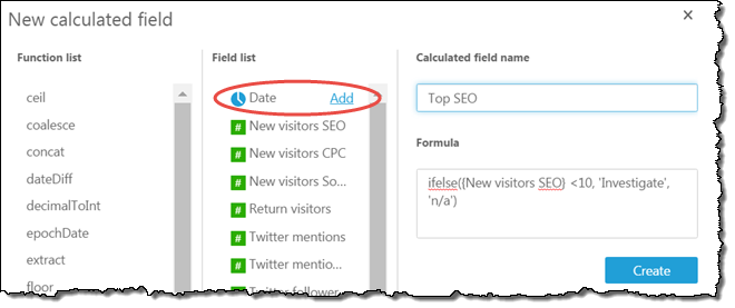 Working with Calculated Fields - Amazon QuickSight