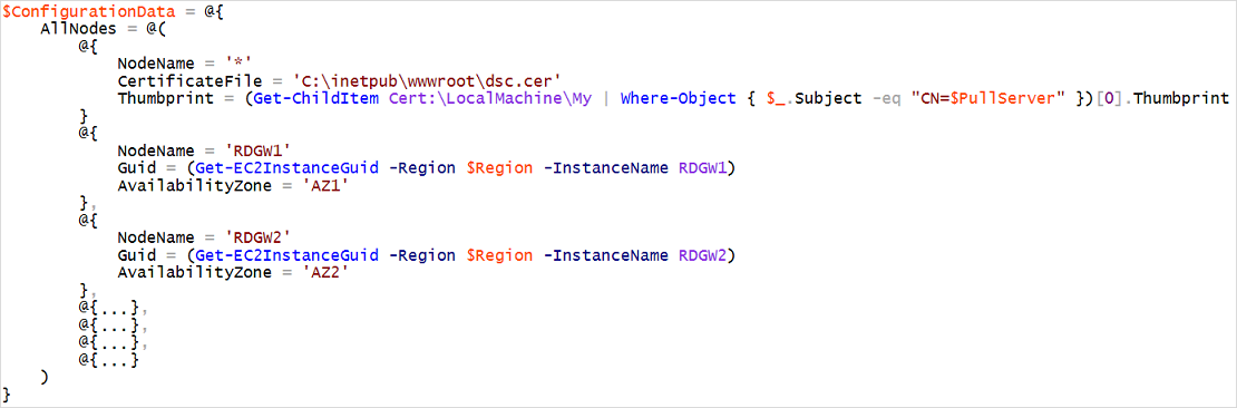 Deployment with a Pull Server Infrastructure - PowerShell DSC on the