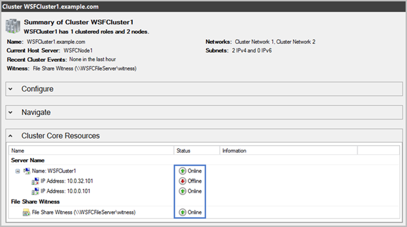 Step 3  Test the Deployment - SQL Server with WSFC on AWS