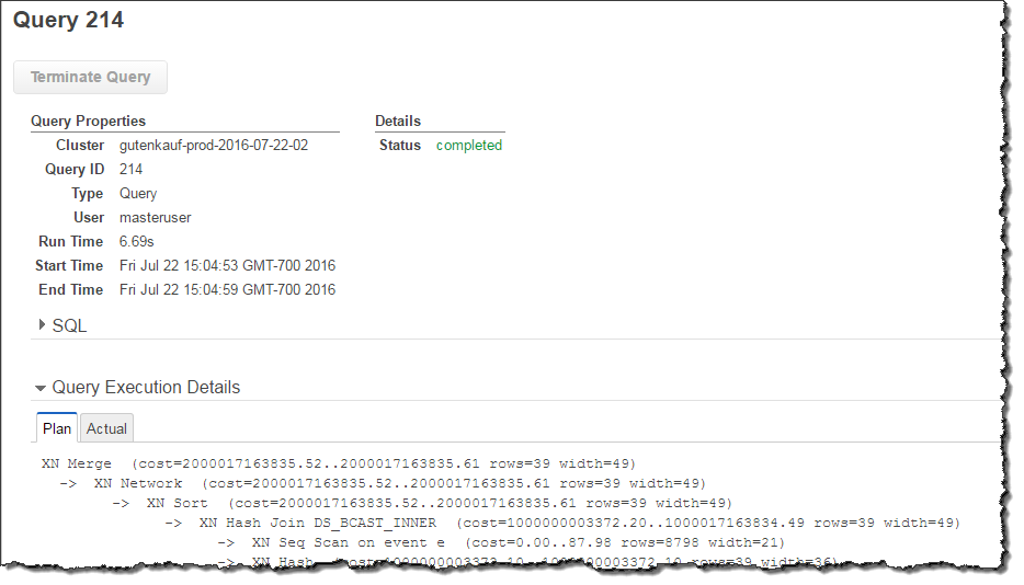 Step 6: Load Sample Data from Amazon S3 - Amazon Redshift
