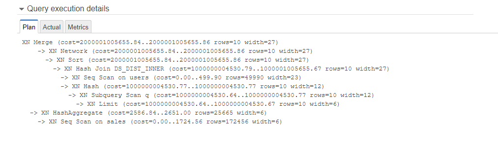 Analyzing Query Execution - Amazon Redshift