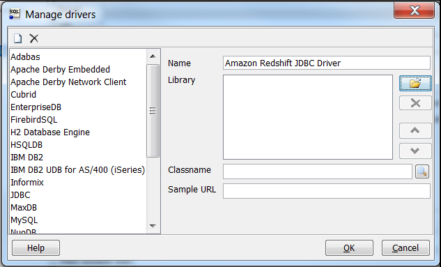 Connect to Your Cluster by Using SQL Workbench/J - Amazon Redshift