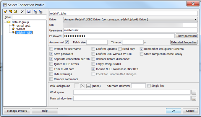 Connect to Your Cluster by Using SQL Workbench/J - Amazon