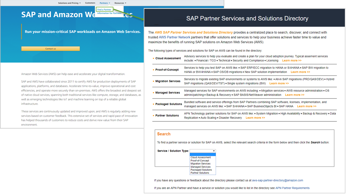 SAP on AWS Overview - General SAP Guides