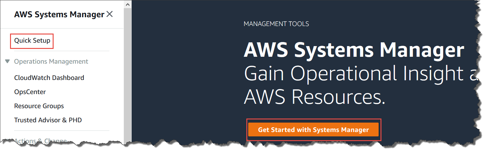 AWS Systems Manager Quick Setup - AWS Systems Manager