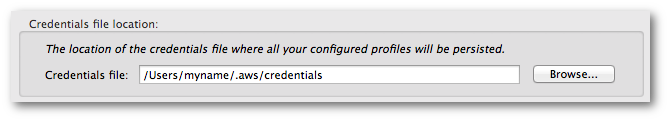 Set up AWS Credentials - AWS Toolkit for Eclipse