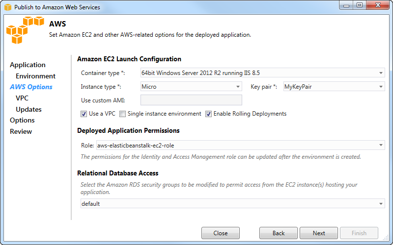 Deploy a Traditional ASP NET Application to Elastic