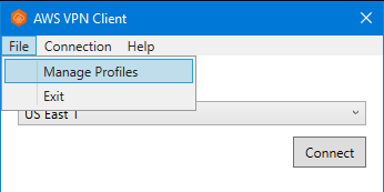 client vpn win profiles - Connect To Aws Vpn From Windows